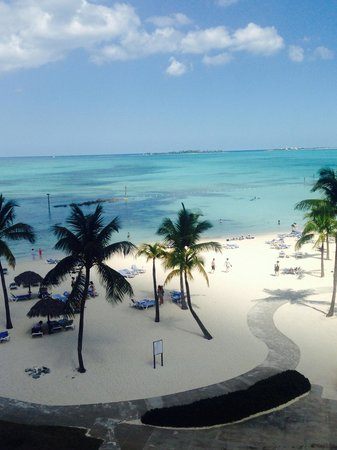 Melia Nassau Beach - All Inclusive: View from the premium ocean view room