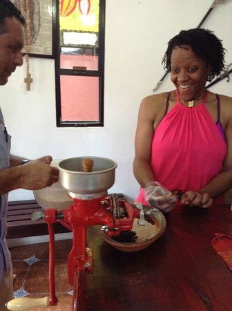 Chocolates Kaokao Factory tour : Making Chocolate DianeCorneliusFitness photo
