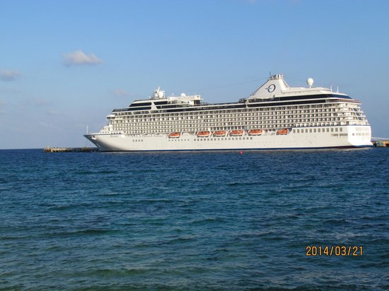 Costa Maya Cruise Excursions - Private Tours: Riviera ship - Oceana cruiseline