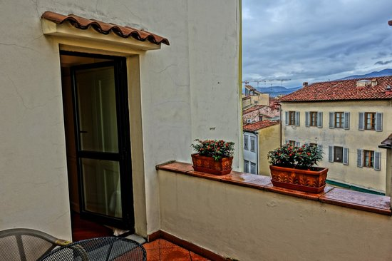 Hotel Laurus al Duomo: Our terrace, room 603.