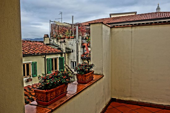 Hotel Laurus al Duomo: View from the terrance of room 603.