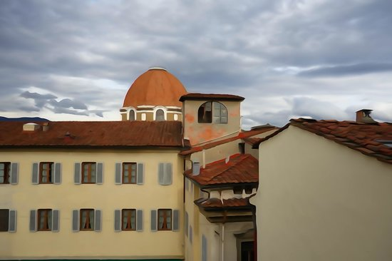 Hotel Laurus al Duomo: View from our window.