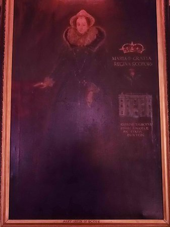 The Old Hall Hotel: mary queen of scots