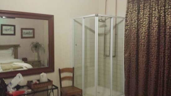 Blue Mango Lodge: In-room shower