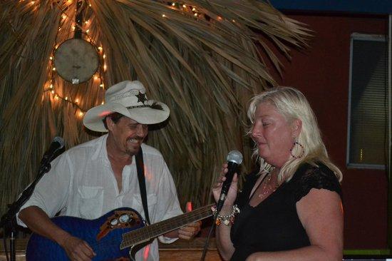 DC & Szana's Country Cabana: DC and Szana entertaining