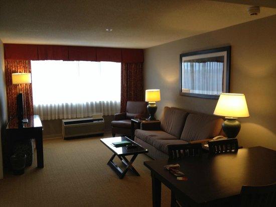 Holiday Inn Hotel & Suites Boston-Peabody: living room