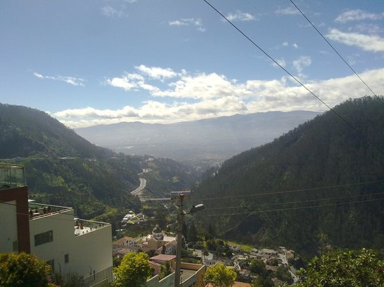 Hotel Quito: Vista