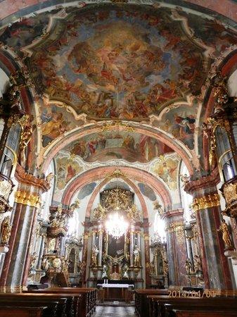 The Prague Loreto : The church main altar