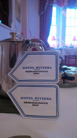 Hotel Riviera: Perfectly English, made me feel warm inside