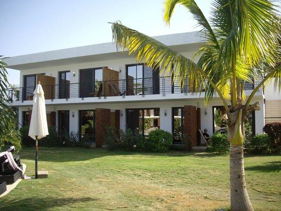 Hotel Keparanga : L'extérieur des chambres