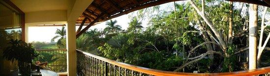 Hotel & Bungalows Mayaland : Unser Balkon