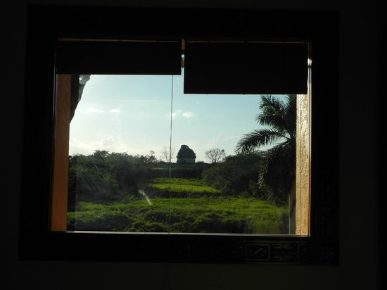 Hotel & Bungalows Mayaland : Blick vom Bett aus