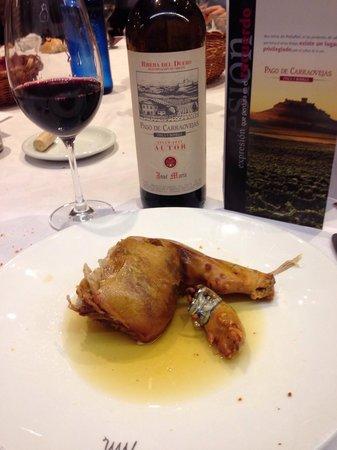 Restaurante Jose Maria: Cochinillo exquisito!! y Don Jose Maria inigualable!!