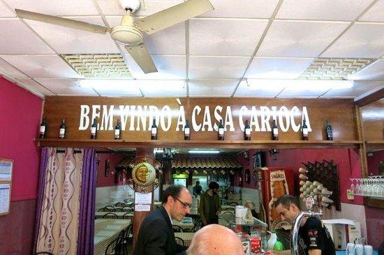 Restaurante Casa Inês: Restaurante Casa Carioca