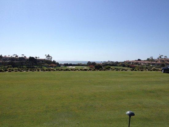 Monarch Beach Resort : overlooking the golf course