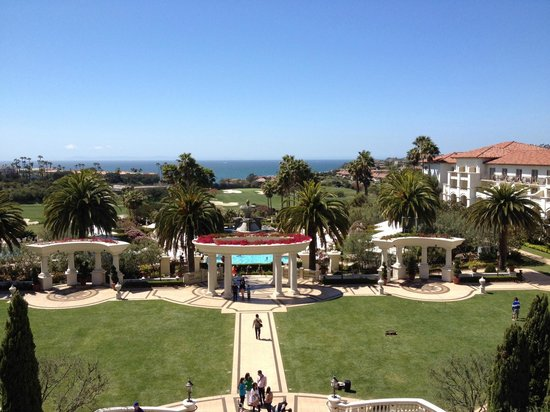 Monarch Beach Resort : view from the lobby