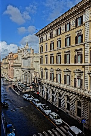 Hotel Mascagni : Our wonderful view