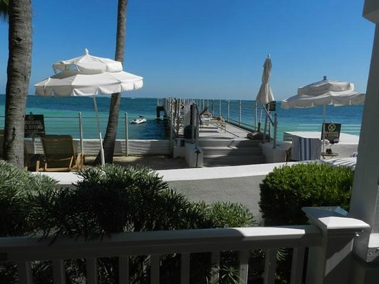 Southernmost Beach Resort : View from door of 523 in building C