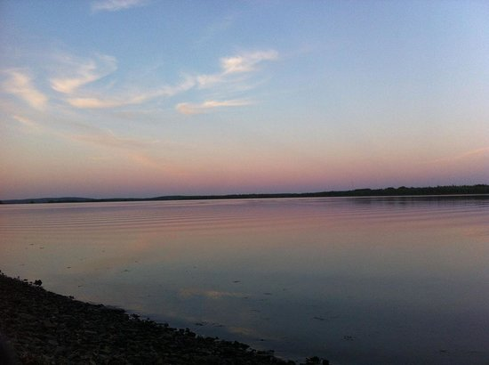 Bras d'Or  Lake : Beautiful evening fishing on the lake