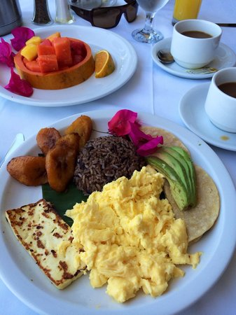 Hotel Villa Caletas : Typical Tico breakfast