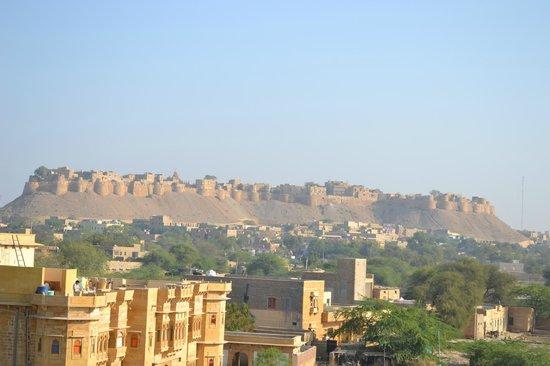 Hotel Fifu : Jolie vue sur la citadelle depuis la terrasse