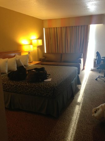 Days Inn Neptune Jacksonville Beach Mayport Mayo Clinic NE: King bedroom