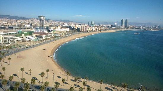 W Barcelona: VISTAS HABITACIÓN 2