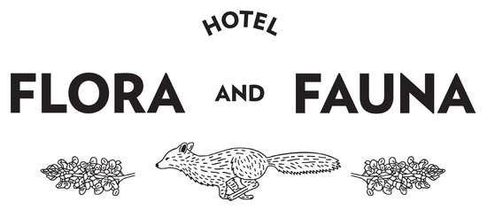 Hotel Flora and Fauna: Our logo says it all