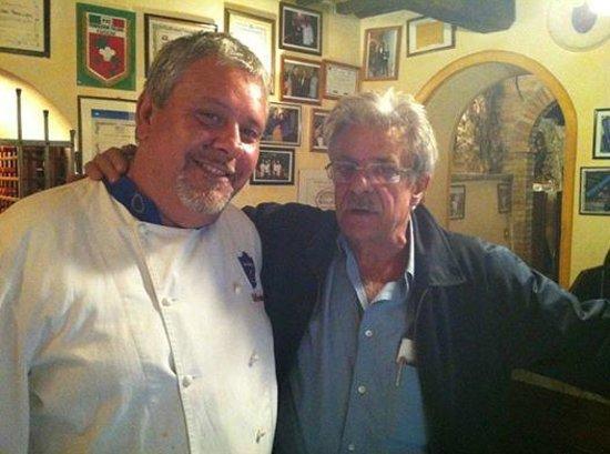 La Locanda del Castello: Al Feudo lo Chef Lupini e Giancarlo Giannini