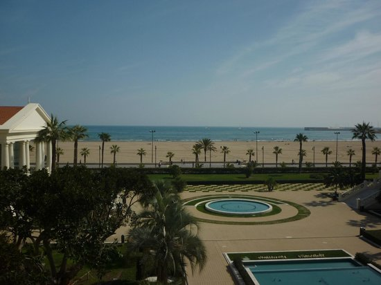 Hotel Las Arenas Balneario Resort : view from the room