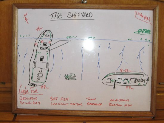 Kuredu Island Resort & Spa: Chris's Dive Description