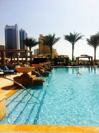 Pool picture of ajman saray a luxury collection resort ajman tripadvisor for Public swimming pools in ajman