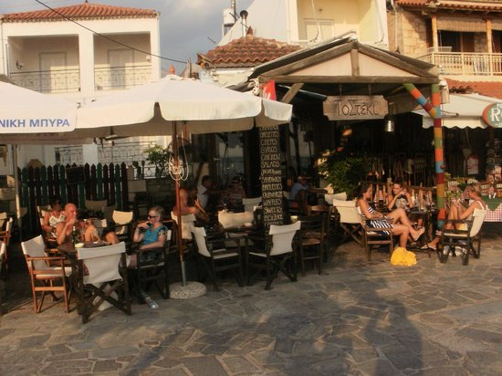 the best bar in Stoupa