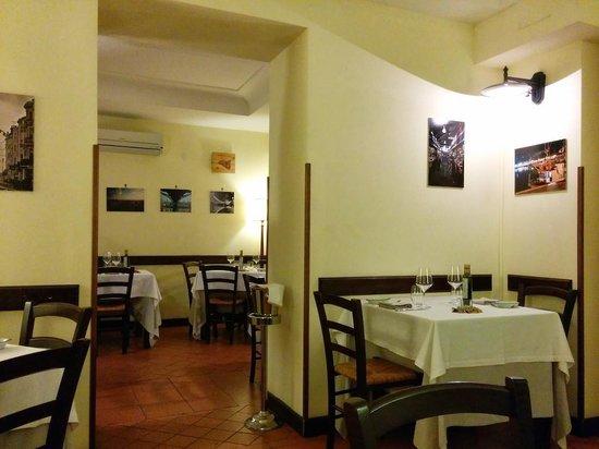 A'Cuncuma Restaurant: inside the restaurant