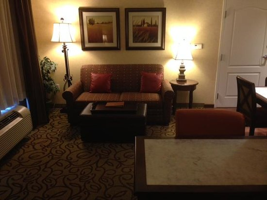 Homewood Suites by Hilton Las Vegas Airport: View of the living area