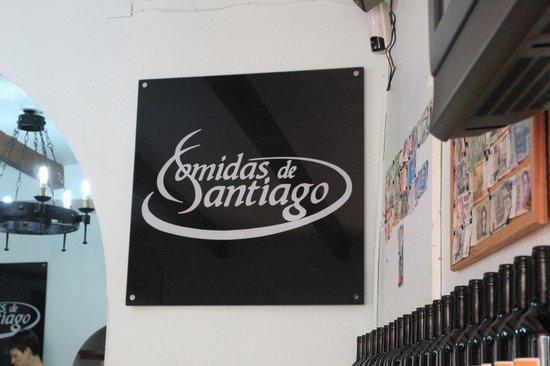 Comidas de Santiago: Un endroit pratique