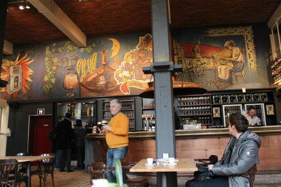De Halve Maan Brewery : Interno Pub