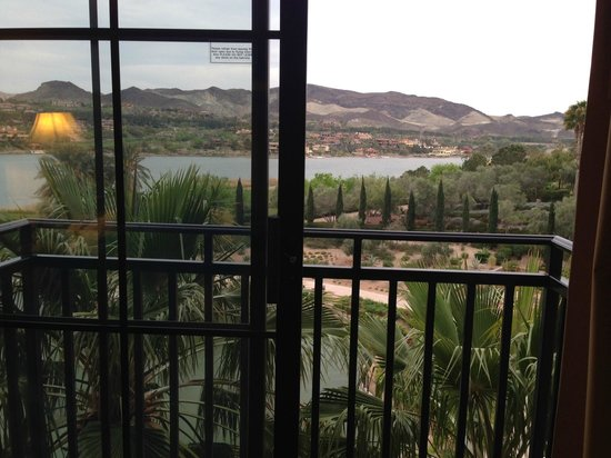 The Westin Lake Las Vegas Resort & Spa : Stunning view from room!