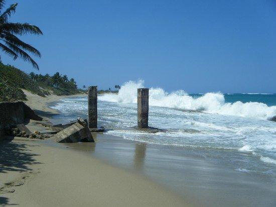Coconut Palms Resort: Walking into Cabarete