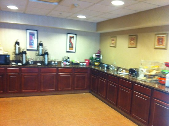 Best Western Plus Saratoga Springs: Breakfast