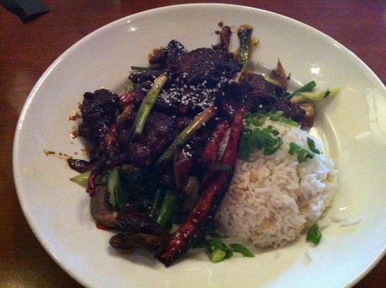Elephant Bar Restaurant: Mongolian beef.