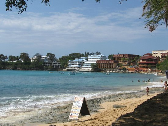 Coconut Palms Resort: View from Sosua beach area