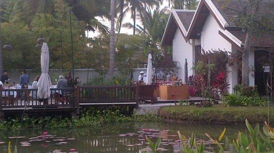 Sanctuary Luang Prabang Hotel: La table des repas