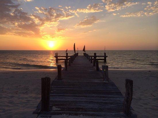Playa Maya Resorts : Un atardecer en el Hotel Maya Resorts