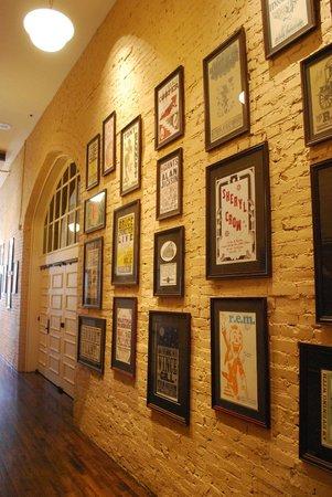Ryman Auditorium : parete con cimeli