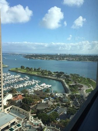 Manchester Grand Hyatt San Diego: room with quite a view