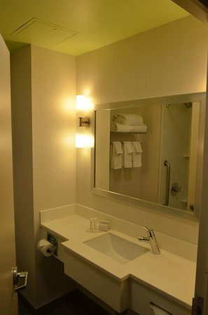 Fairfield Inn & Suites New York Queens/Queensboro Bridge : Banheiro