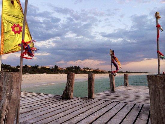 Playa Maya Resorts : En la playa del hotel