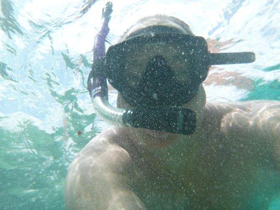 Mystic Snorkel : having a blast!