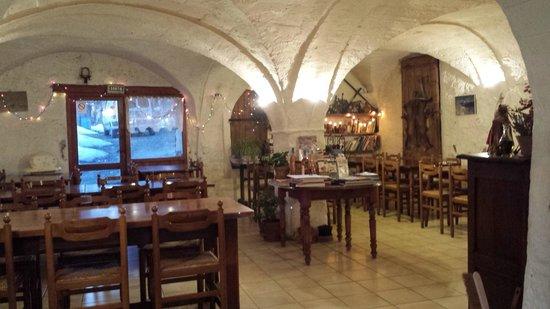 Thorame-Haute, Francia: Salle à manger